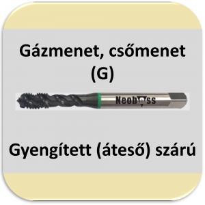 6343/69 (G) gázmenet csavarthornyú 50°PM