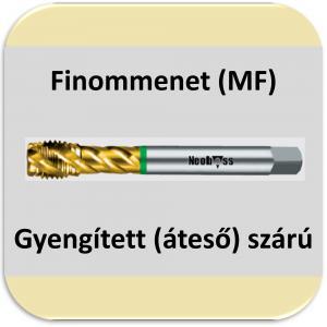 6345/80 (MF) csavarth. 40° Finom menet