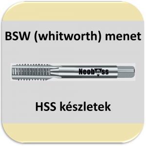 BSW menetfúró (HSS) készletek