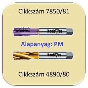 Gépi menetf. nikkelötvözethez 1600N/mm2