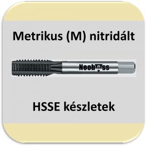 HSSE (M) (nitridált) metrikus készletek