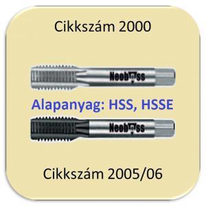 Kézi menetfúró készletek (HSS, HSSE)