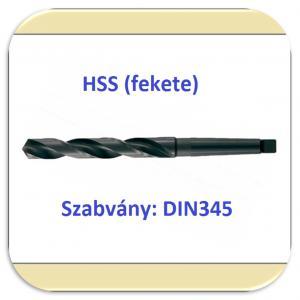 Kúposszárú csigafúró HSS DIN345