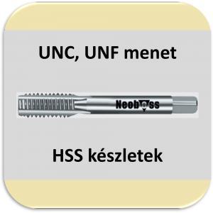 UNC, UNF menetfúró (HSS) készletek