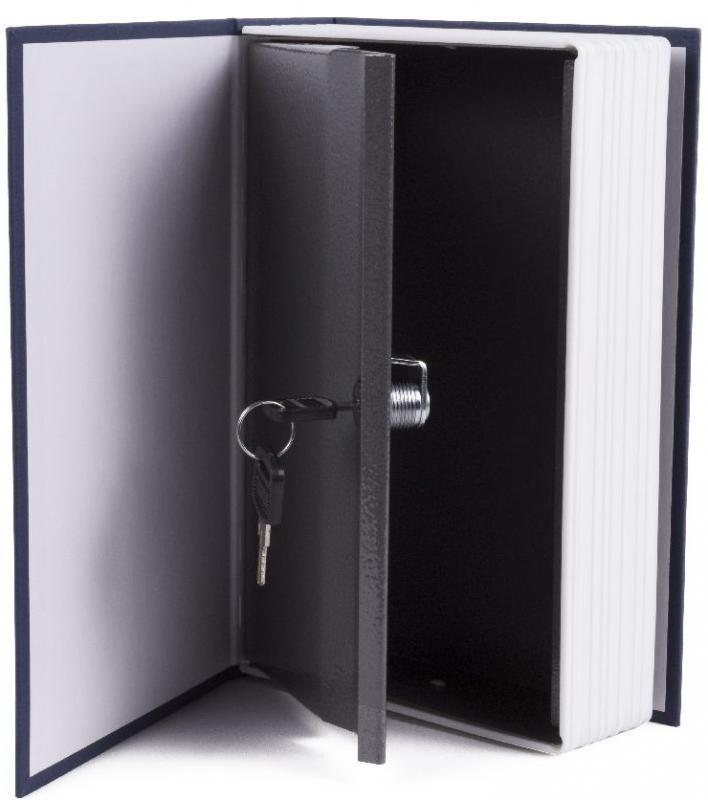 Pénzkazetta, értékmegőrző, könyv alakú
