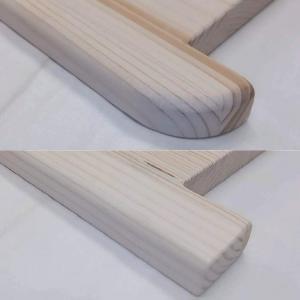 Lucfenyő ablakpárkány 100-200 mm KIUGRÓ PEREMMEL