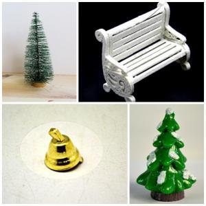 Karácsonyi figurák, egyéb kellékek