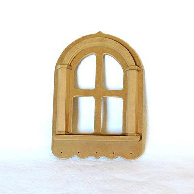 Ablak alakú kulcstartó, mérete: 230x300x30 mm