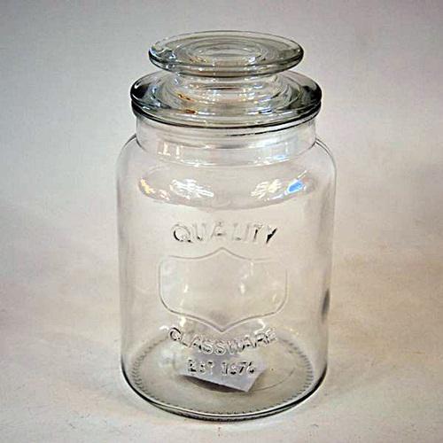 Aromazárós üveg, 11x18 cm, 1 literes