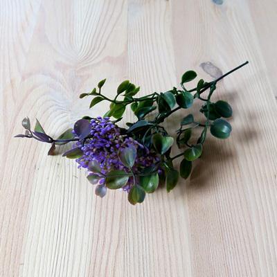 Fagyal bokor, lila, mérete: 17 cm (teljes hossz: 22 cm)