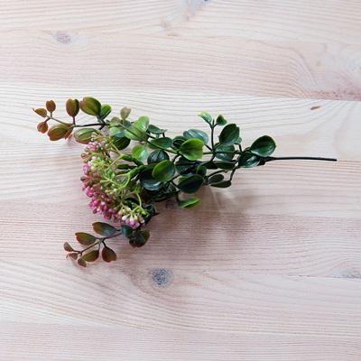 Fagyal bokor, rózsaszín, mérete: 17 cm (teljes hossz: 22 cm)
