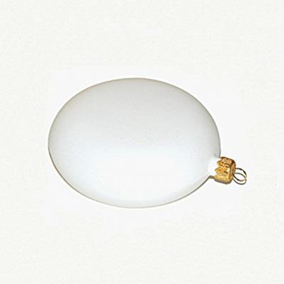 Fehér műanyag medalion, mérete: 10 cm