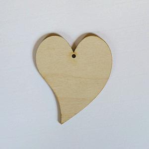 Francia szív, mérete: 8x10 cm