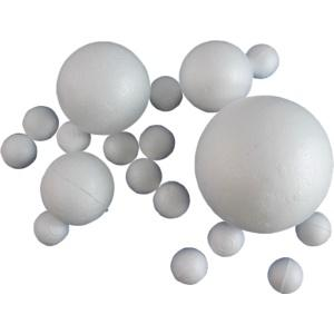 Hungarocell (polisztirol) gömb, átmérő: 8 cm