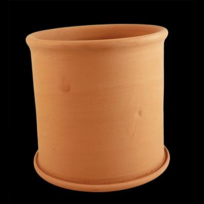 Kerámia fakanáltartó, átmérő: 135mm, magasság: 140 mm