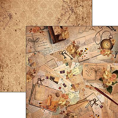 Kétoldalas scrapbook papír - Unforgettable