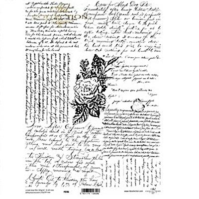 Kristály fólia - kézírás