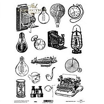 Kristály fólia - retro tárgyak