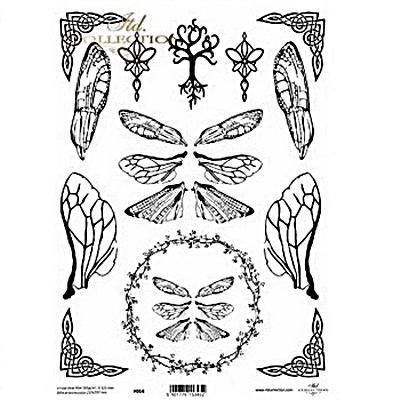 Kristály fólia - szárnyak