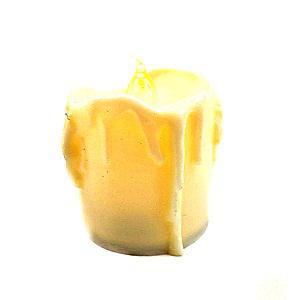 Led gyertya csurgatott, mérete: 40x45 mm