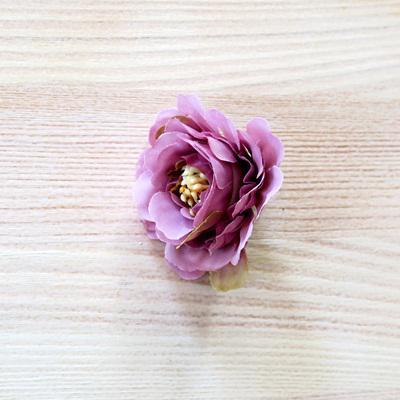 Mályva fodros virágfej. Mérete: 4 cm