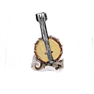 Mandolin, poly. Mérete: 28x60x16 mm
