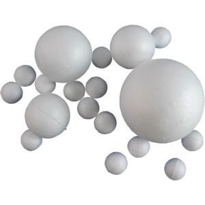 Polisztirol gömb, mérete: 6cm