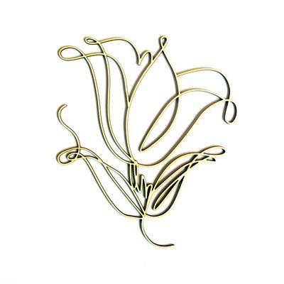 Rajzos tulipán, mérete: 8x9,5 cm