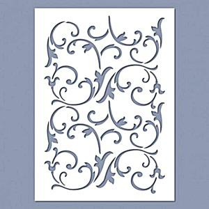 Stencil - Inda 01, mérete: 14,5x20 cm