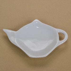 Porcelán teafilter tartó, mérete: 12x8,5x2 cm
