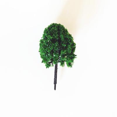 Zöld fa, mérete: 25x55 mm
