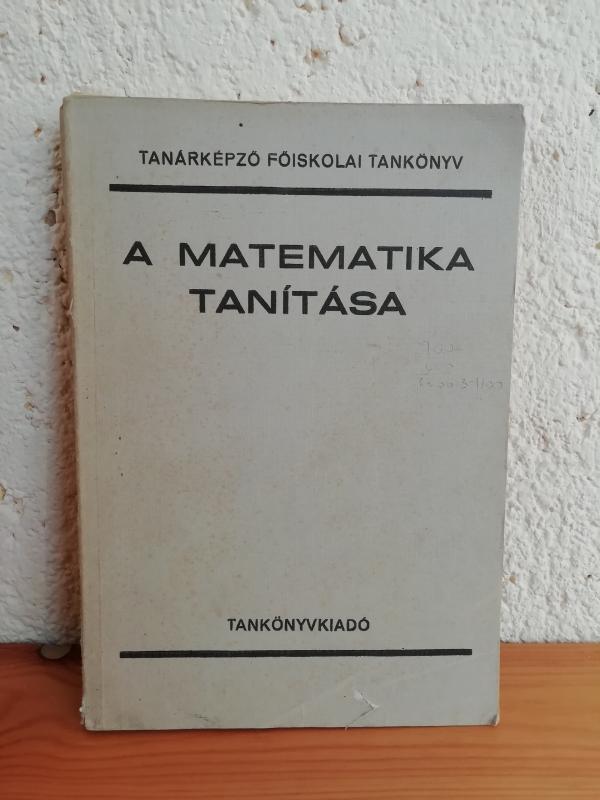 A matematika tanítása