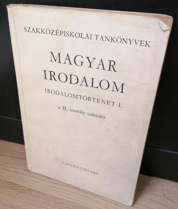 Magyar irodalom irodalomtörténet I.