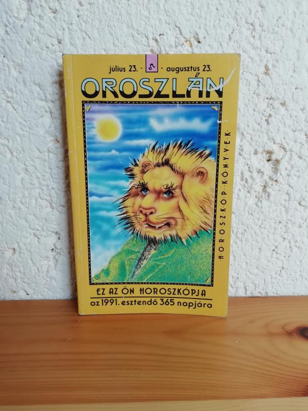 Oroszlán - horoszkóp könyvek 1991