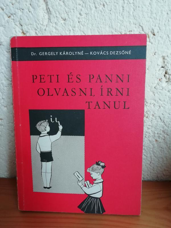Peti és Panni olvasni, írni tanul