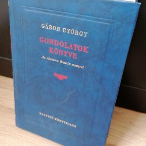 Gábor György: Gondolatok könyve