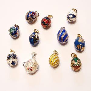 Fabergé-tojás medálok