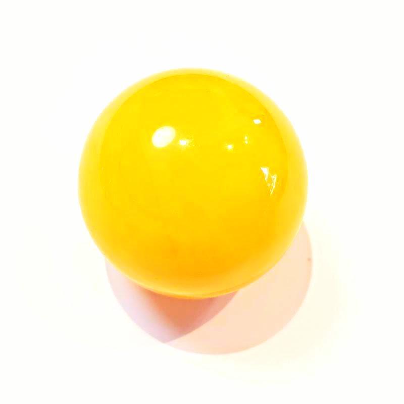 Borostyánkő golyó sárga opak  10,5g  904