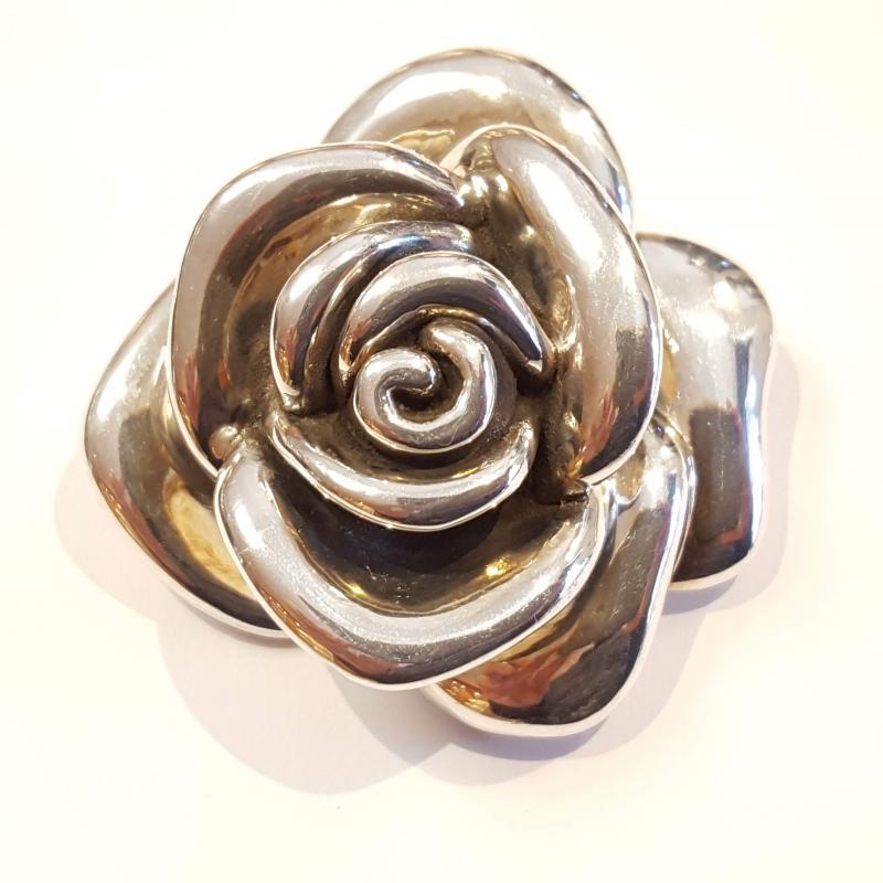 Ezüst medál nagy rózsa Jubilex 219