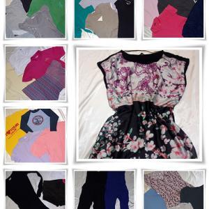 2. osztály+B ruha mix (25 kg)