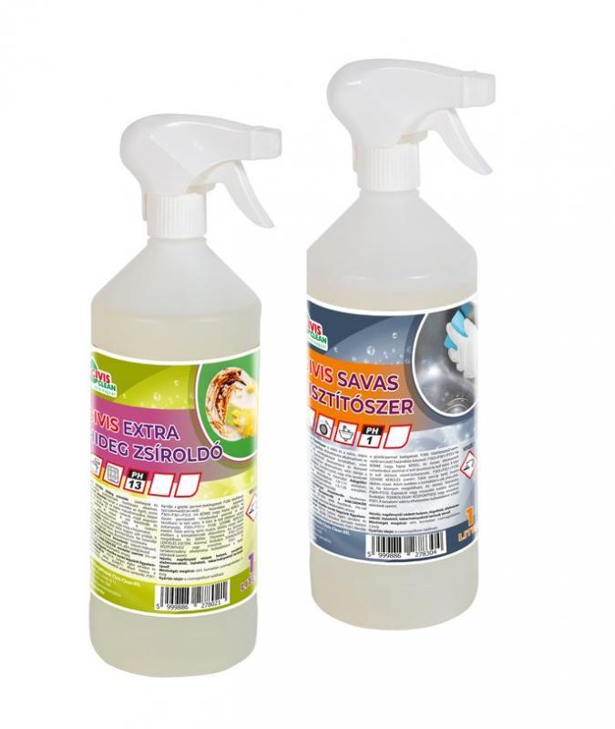 Extra Hideg Zsíroldó & Savas Tisztító (vízkő oldó)