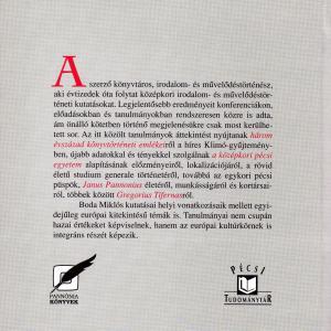 Boda Miklós: Stúdium és literatúra - művelődéstörténeti tanulmányok