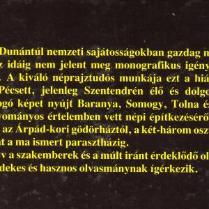Zentai Tünde: A parasztház története a Dél-Dunántúlon