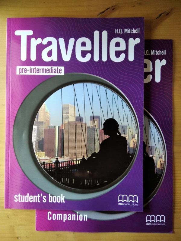 H.Q. Mitchell: Traveller pre-intermediate - student's book and Companion book (angol)