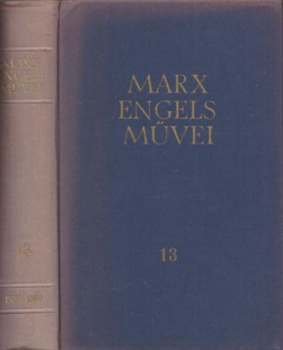 Karl Marx és Friedrich Engels művei 13.