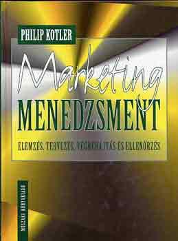 Kotler: Marketing, menedzsment