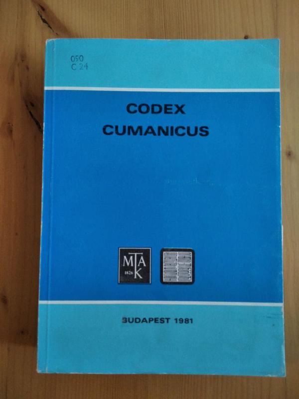 Kuun Géza (szerk.): Codex Cumanicus (angol)