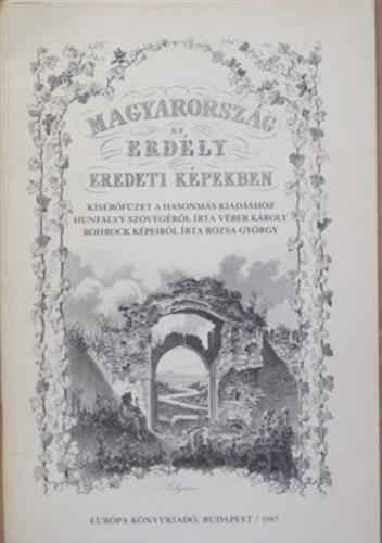 Magyarország és Erdély eredeti képekben – kísérőfüzet