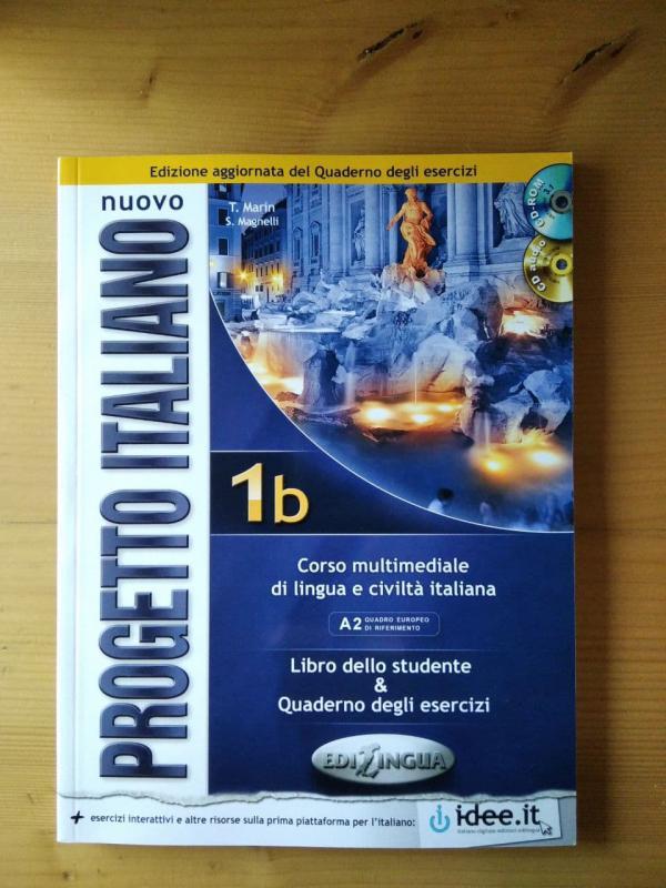 Martin; Magnelli: Nuovo Progetto italiano 1b - Libro dello studente & Quaderno degli esercizi + 2 db CD (olasz)