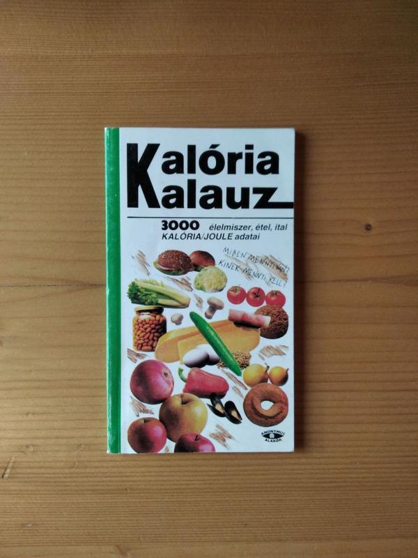 Menyhért Anna (szerk.): Kalóriakalauz